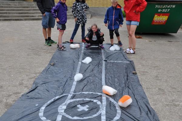 Curling om sommeren